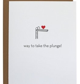 chez gagne take the plunge card