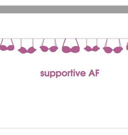 chez gagne supportive AF card