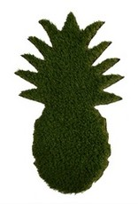 pineapple shaped grass doormat