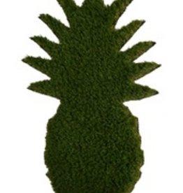 pineapple shaped grass doormat