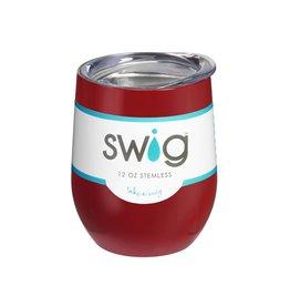 swig swig 12oz wine tumbler - crimson