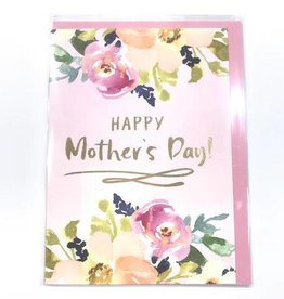 Calypso flora mothers day card