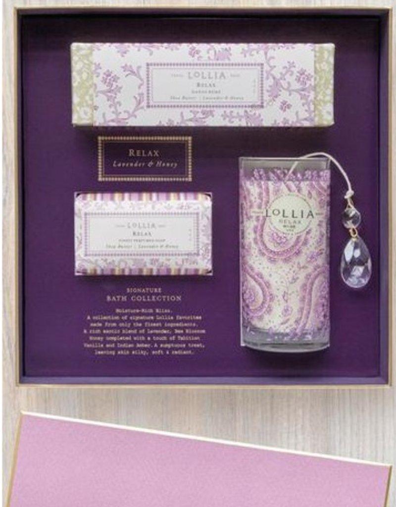 lollia relax gift set