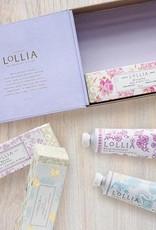 lollia travel size handcreme gift set