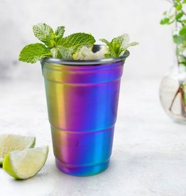 the rainbow party cup