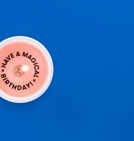 have a magical birthday secret message candle
