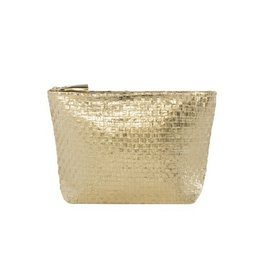 shiraleah gold adora zip pouch