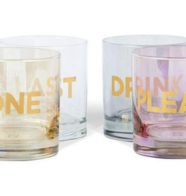 rocks glasses one last drink please (set of 4)