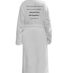 los angeles trading co pour yourself a drink plush robe