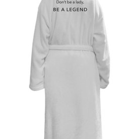 los angeles trading co be a legend plush robe