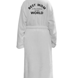 los angeles trading co best mom in history plush robe