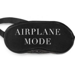 los angeles trading co eyemask airplane mode