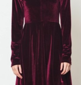melanie velvet dress FINAL SALE