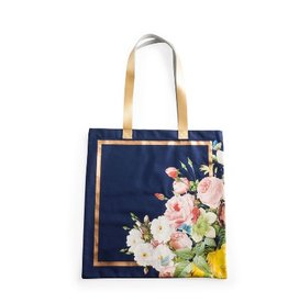 seven sisters floral tote