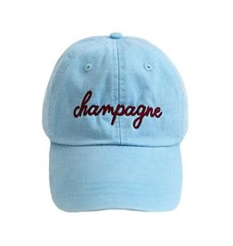friday + saturday champagne hat
