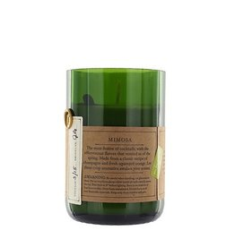 mimosa rewined candle
