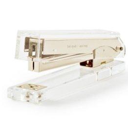 kate spade gold acrylic stapler