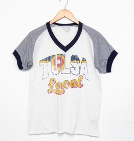 LivyLu tulsa local flag farrah tee