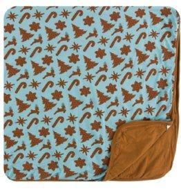 kickee pants Christmas cookies toddler blanket