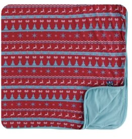 kickee pants nordic print toddler blanket