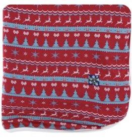kickee pants nordic print throw blanket