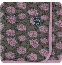 kickee pants african violets swaddling blanket