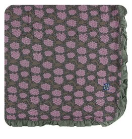 kickee pants african violets ruffle toddler blanket