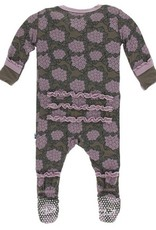 kickee pants african violets muffin ruffle coverall with snaps