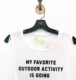 R+R favorite outdoor activity muscle tank