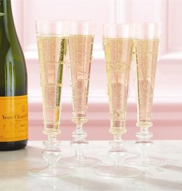 two's company verre champagne flute (set of 4)