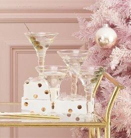 two's company verre martini glass (set of 4)