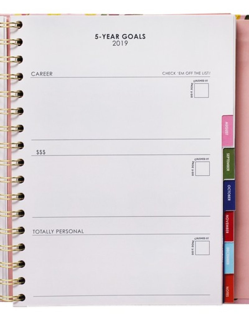 packed party big plans planner