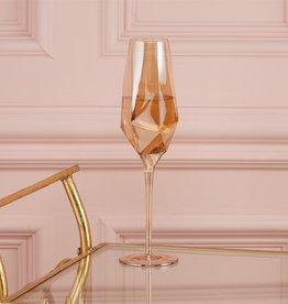two's company diamond champagne glass