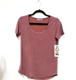 dex jenna scoop neck tee