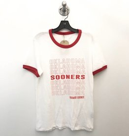 Opolis ou shopping bag 50/50 ringer tee