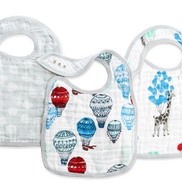 aden+anais dream ride 3pk classic snap bibs