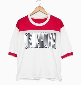 LivyLu sooners block garth tee