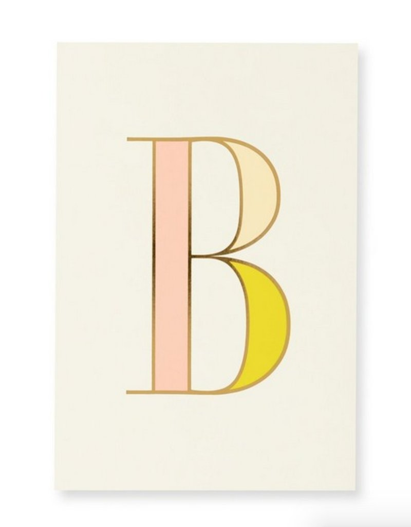 Kate Spade Kate Spade Initial Notepad B Stash Apparel And Gifts