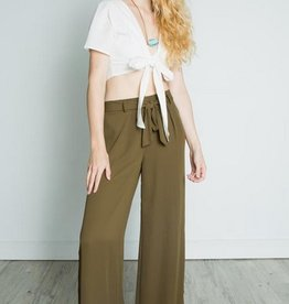 dex wide leg slit pant