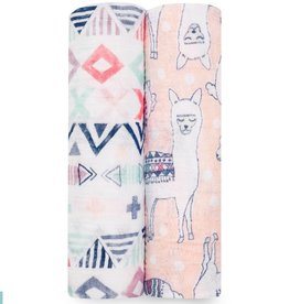 aden+anais trail blooms 2 pack classic swaddles