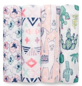 aden+anais trail blooms 4 pk classic swaddles