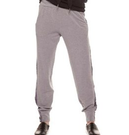 dex sweatpants with beading detail