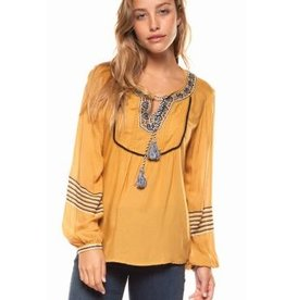 dex peasant blouse