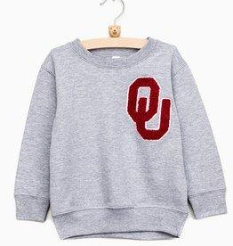 LivyLu childrens OSU chenille sweatshirt