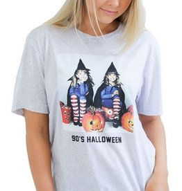 friday + saturday 90s halloween tee