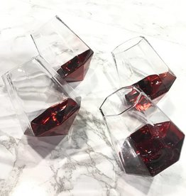 two's company diamond shot glass