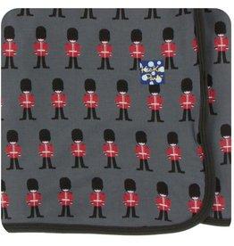 kickee pants queens guard print swaddling blanket