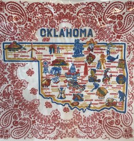 oklahoma paper napkins (set of 20)