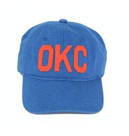 aviate OKC hat - blu/orng