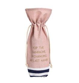 last name wine bag